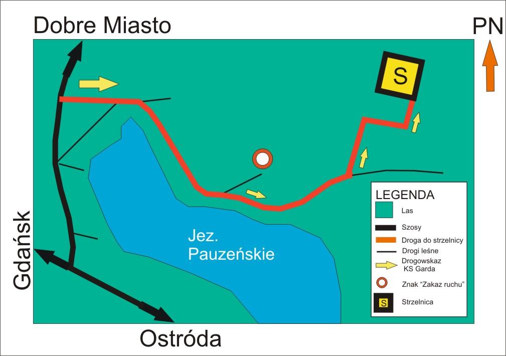 Mapka dojazdowa